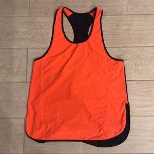 Orange/Navy Lululemon sports tank
